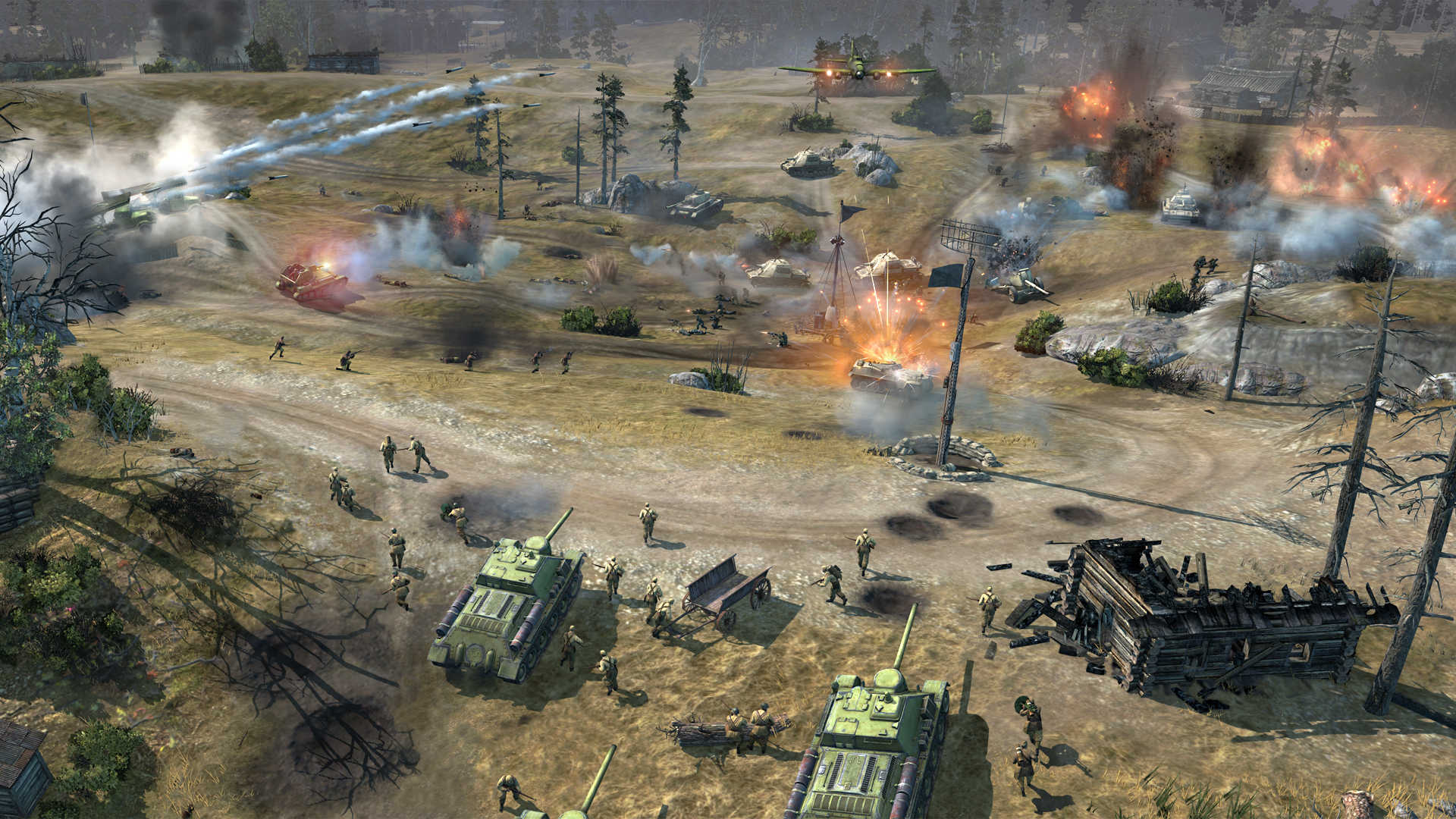 High Resolution Wallpaper | Company Of Heroes 2 1920x1080 px