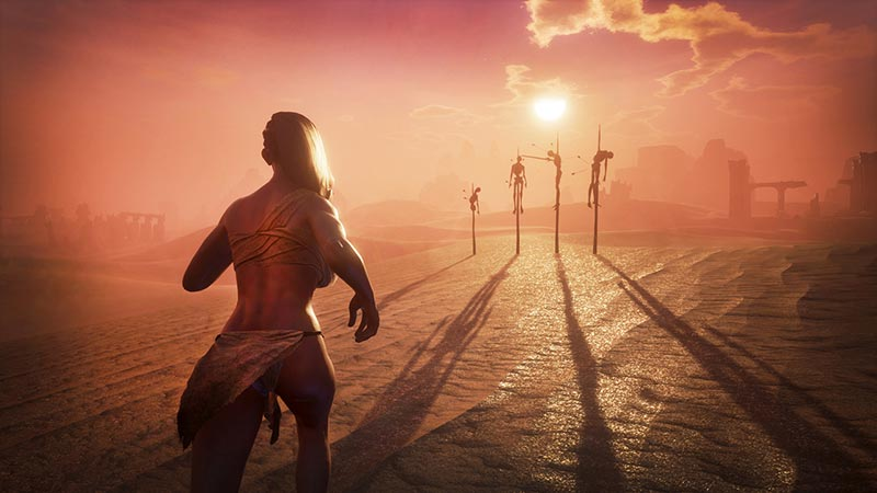HD Quality Wallpaper | Collection: Video Game, 800x450 Conan Exiles
