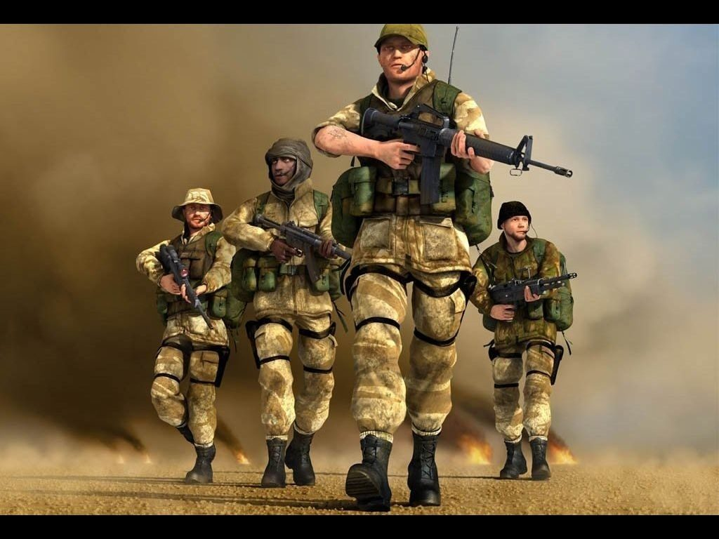 Nice wallpapers Conflict: Desert Storm II: Back To Baghdad 1024x768px