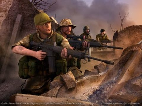 High Resolution Wallpaper | Conflict: Desert Storm II: Back To Baghdad 480x360 px