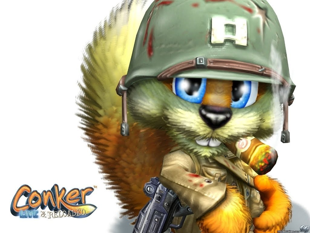 HQ Conker: Live & Reloaded Wallpapers | File 94.86Kb