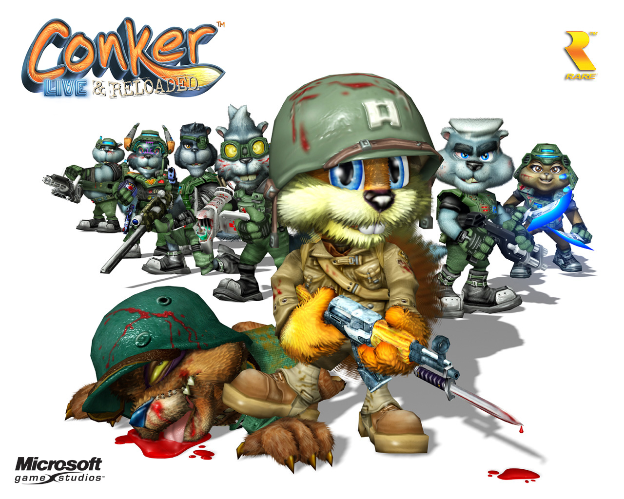 High Resolution Wallpaper | Conker: Live & Reloaded 1280x1024 px