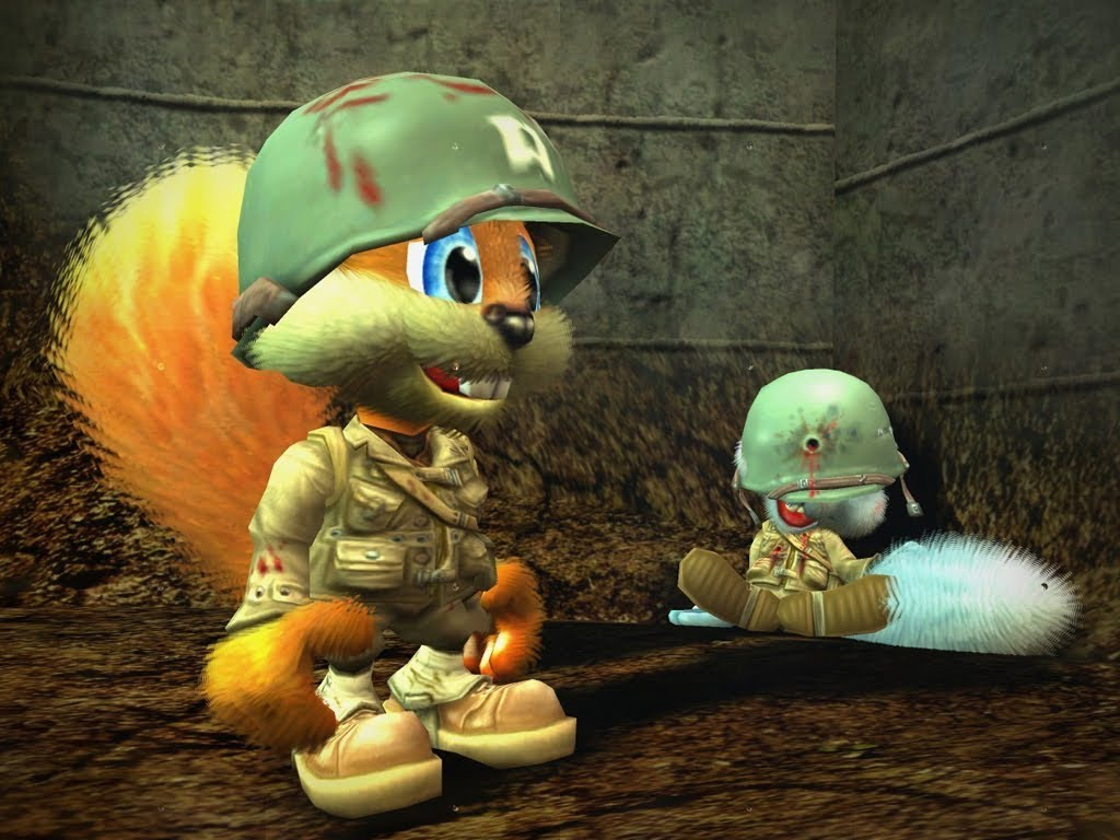Conker: Live & Reloaded Backgrounds on Wallpapers Vista