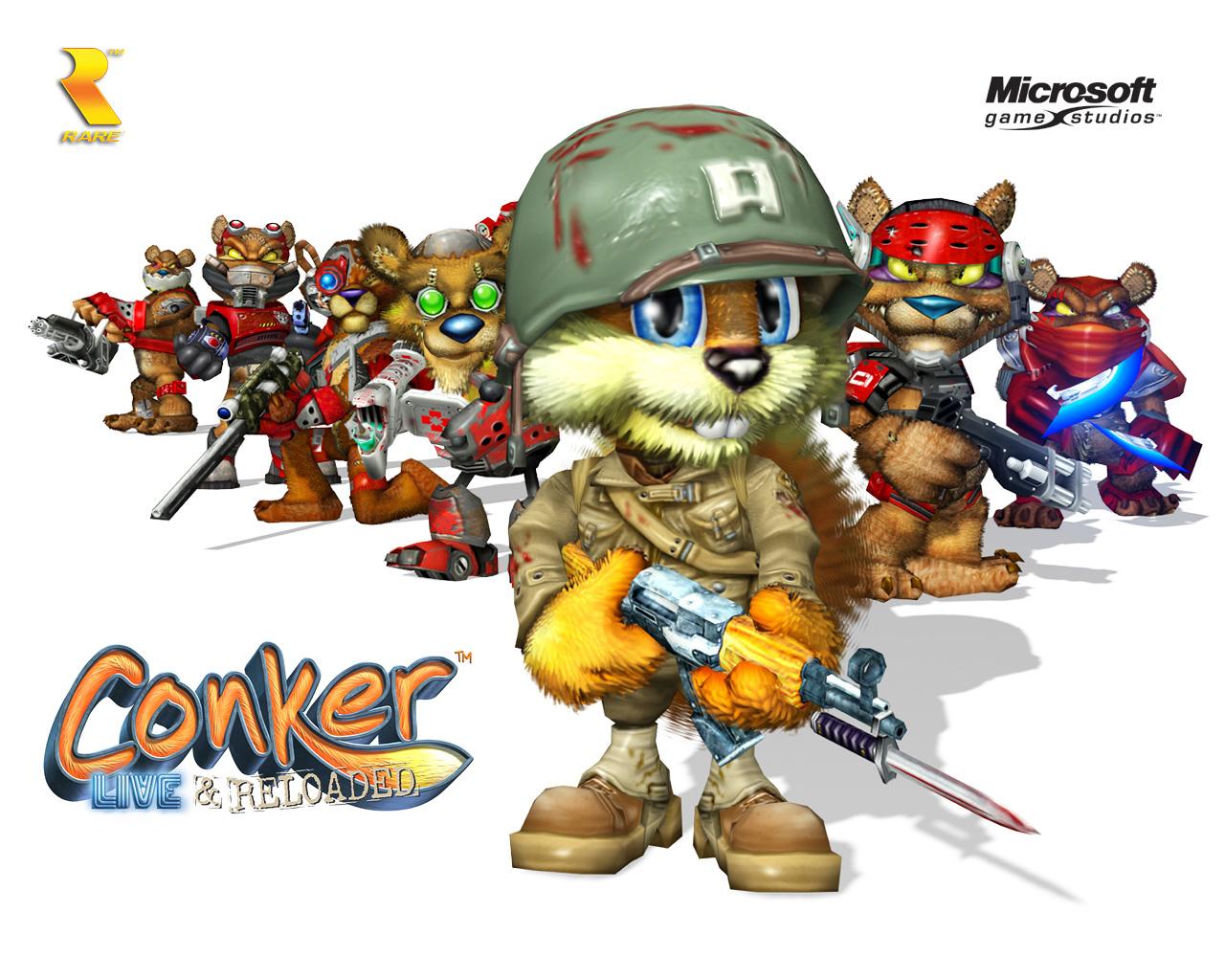 HD Quality Wallpaper | Collection: Video Game, 1280x1024 Conker: Live & Reloaded