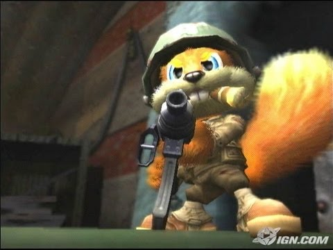 480x360 > Conker: Live & Reloaded Wallpapers