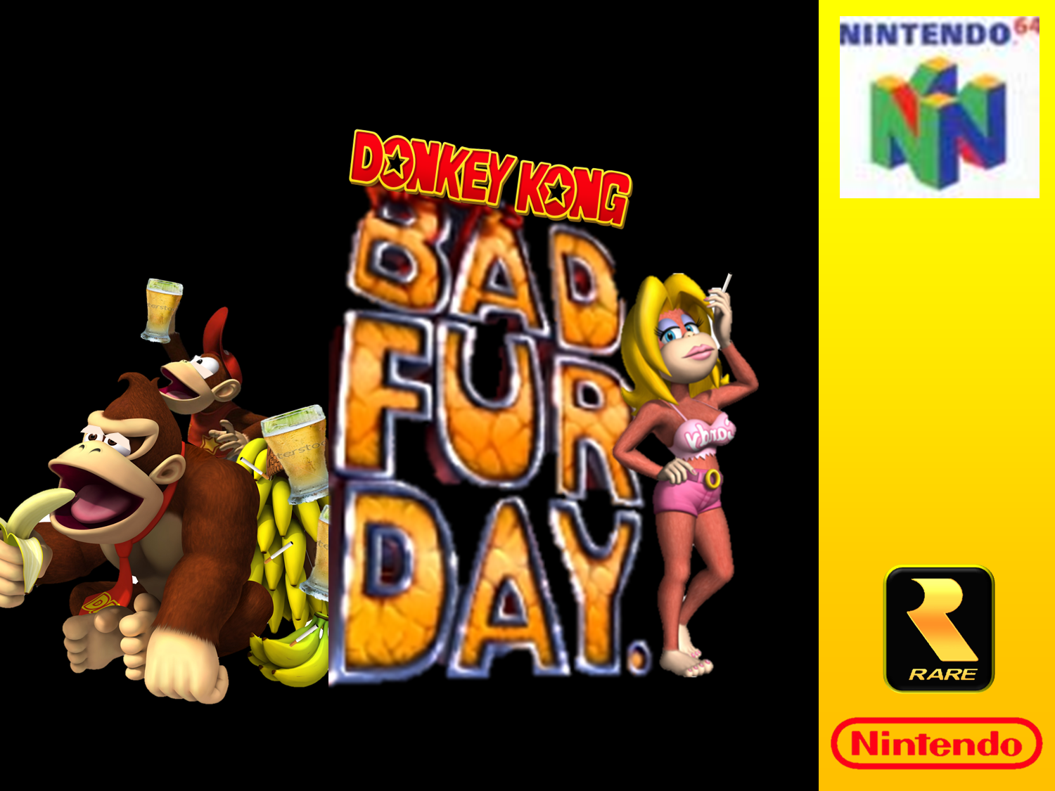 Conker S Bad Fur Day Wallpapers Video Game Hq Conker S Bad Fur