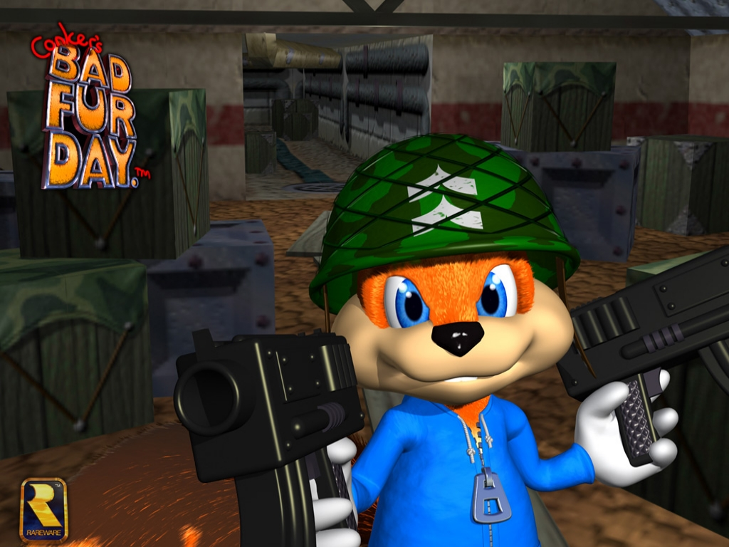 Amazing Conker's Bad Fur Day Pictures & Backgrounds