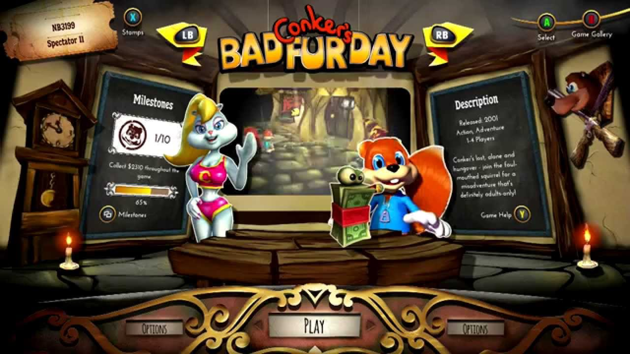 Most Viewed Conker S Bad Fur Day Wallpapers 4k Wallpapers