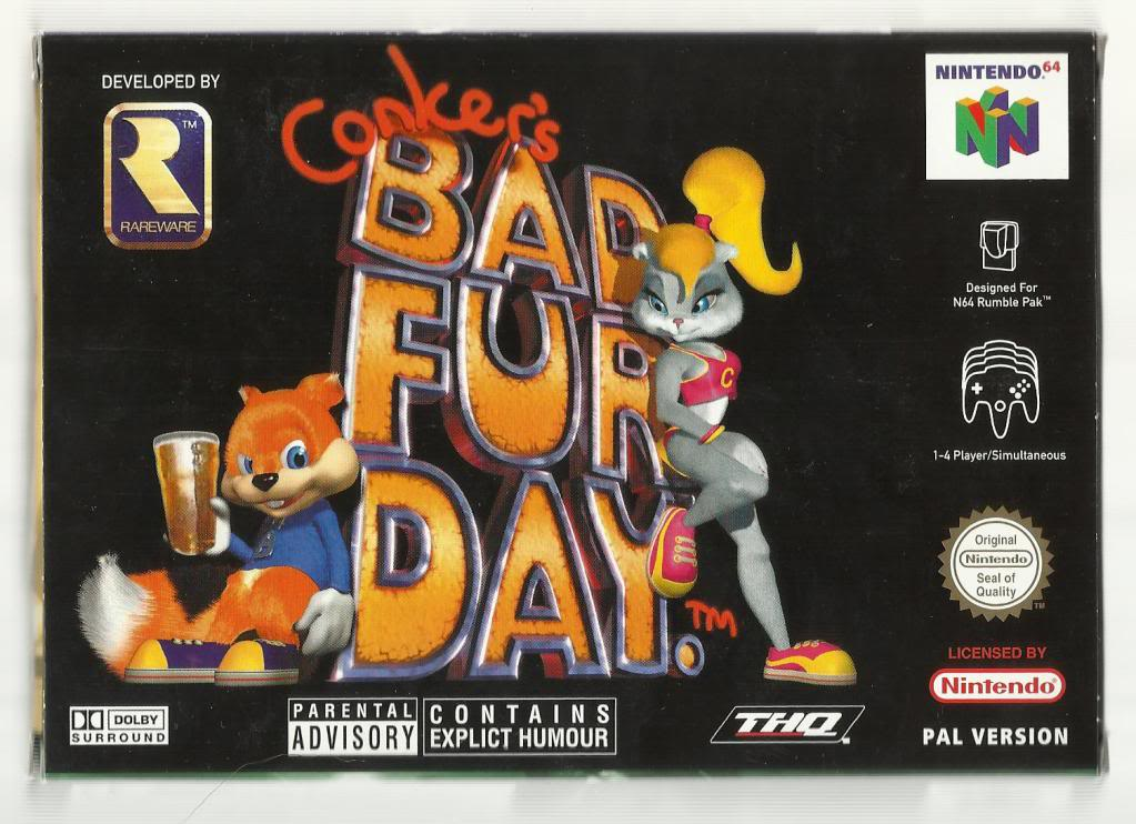Conker's Bad Fur Day Pics, Video Game Collection