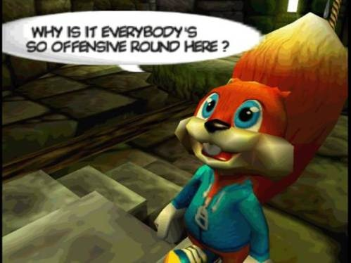 Nice Images Collection: Conker's Bad Fur Day Desktop Wallpapers