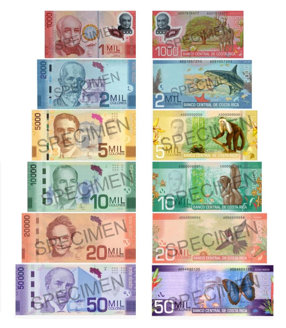 Costa Rican Colón Wallpapers Man Made