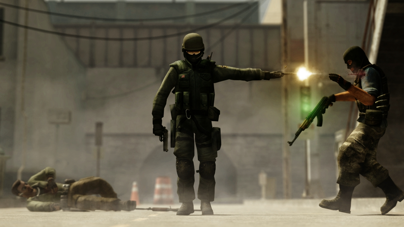 Counter Strike Backgrounds, Compatible - PC, Mobile, Gadgets| 1366x768 px
