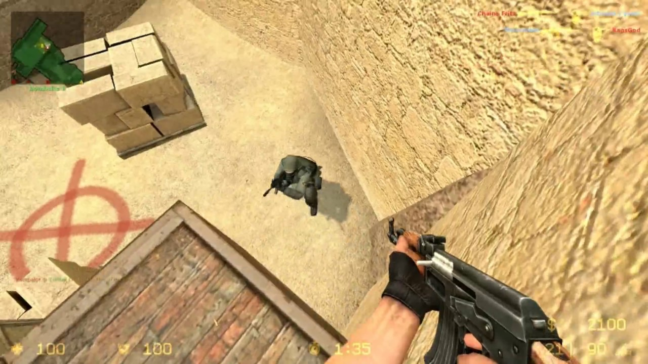 HD Quality Wallpaper | Collection: Video Game, 1280x720 Counter Strike