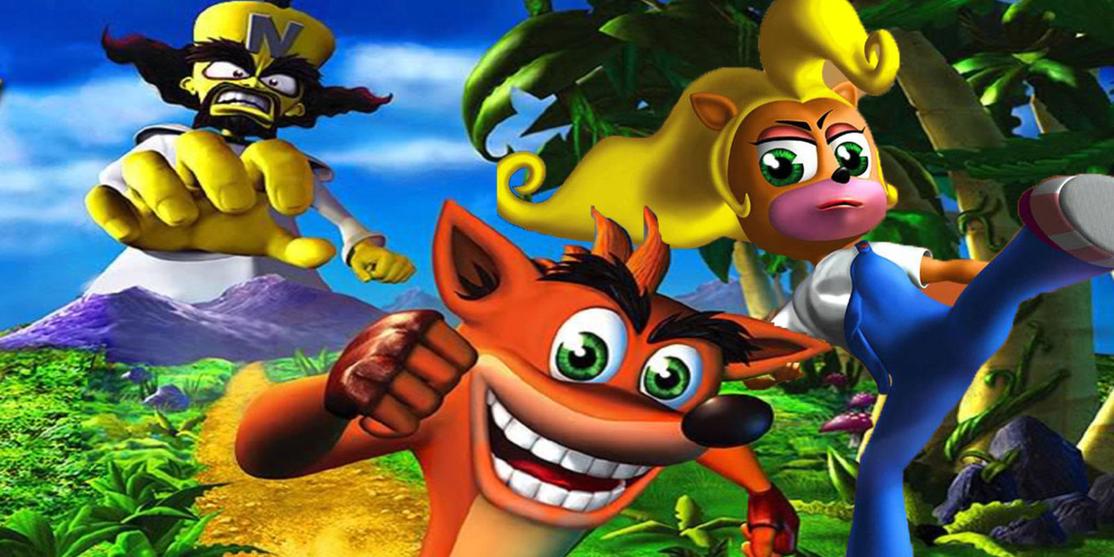 Most viewed Crash Bandicoot wallpapers