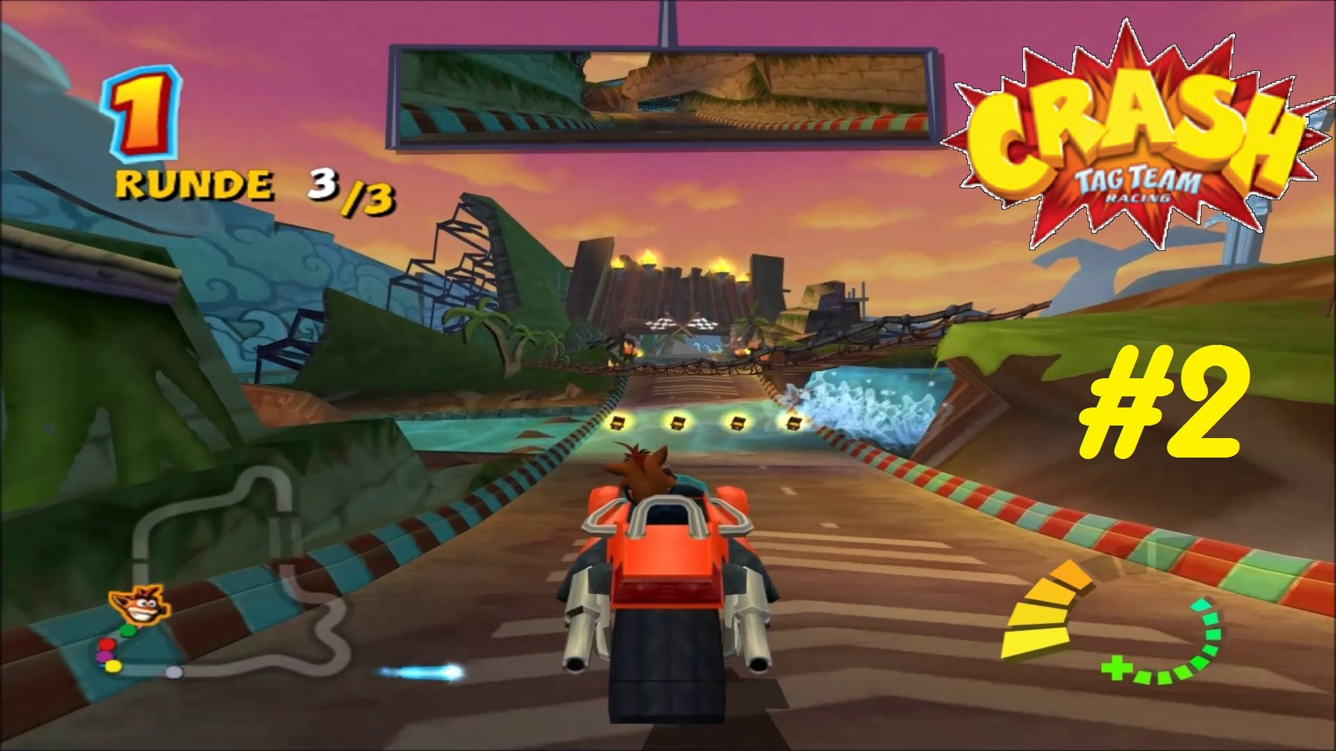Crash Tag Team Racing wallpapers, Video Game, HQ Crash Tag