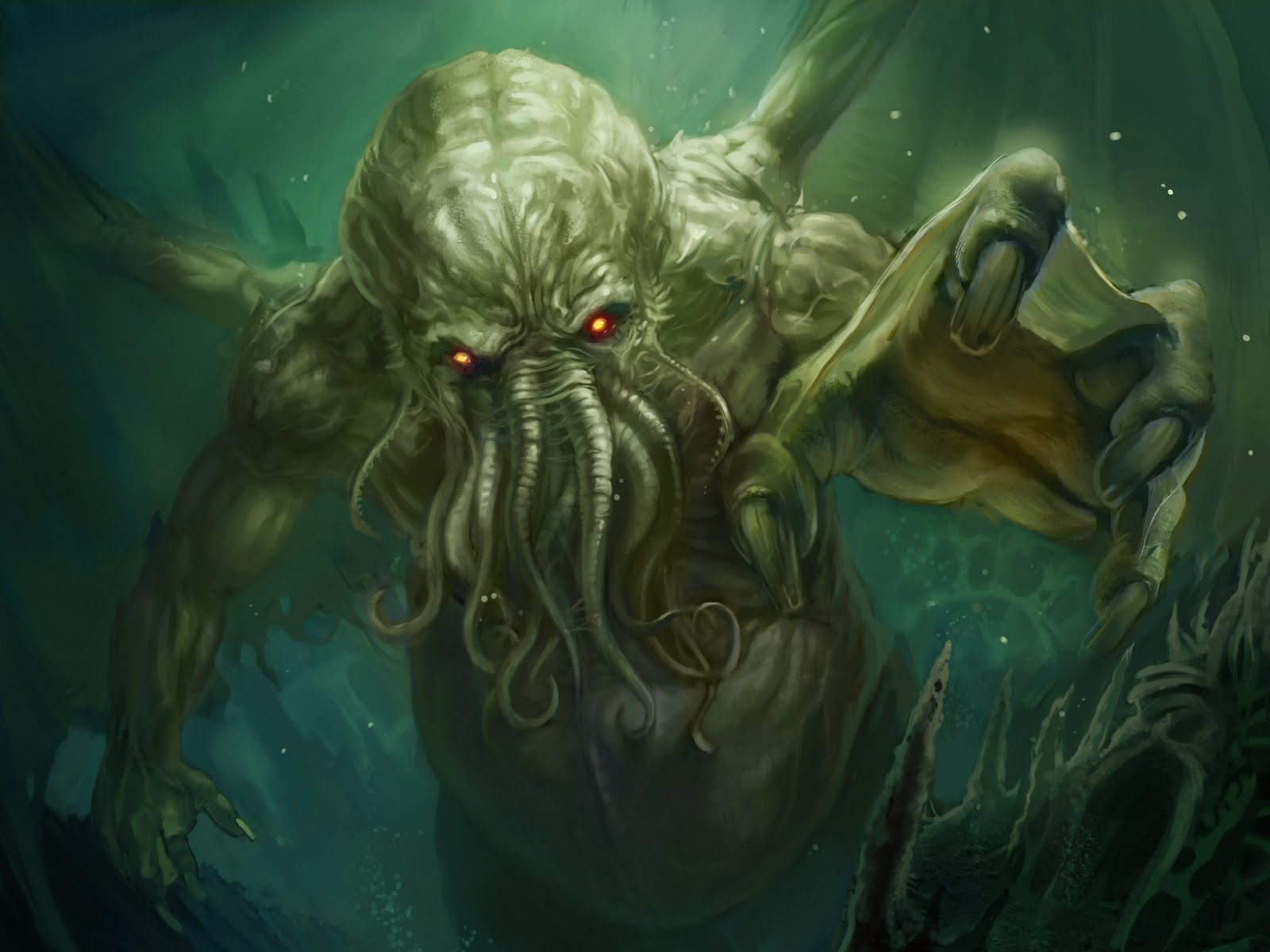 1600x1200 > Cthulhu Wallpapers