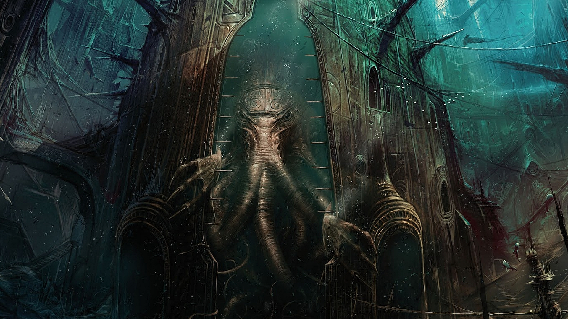 HQ Cthulhu Wallpapers | File 1389.95Kb