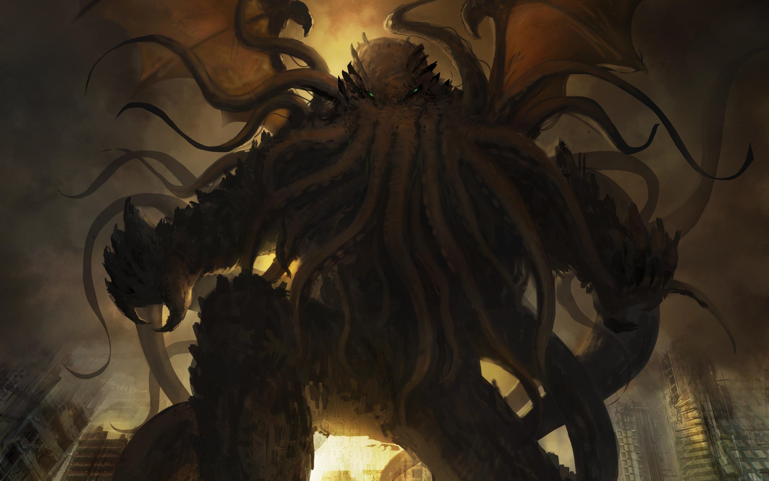 Cthulhu High Quality Background on Wallpapers Vista