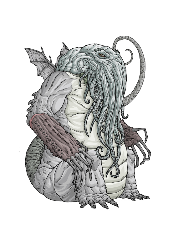 Nice Images Collection: Cthulhu Desktop Wallpapers