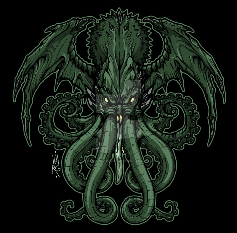 HD Quality Wallpaper | Collection: Fantasy, 800x787 Cthulhu