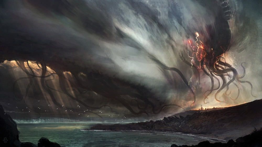 Nice wallpapers Cthulhu 1000x563px