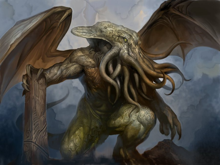 HD Quality Wallpaper | Collection: Fantasy, 900x675 Cthulhu