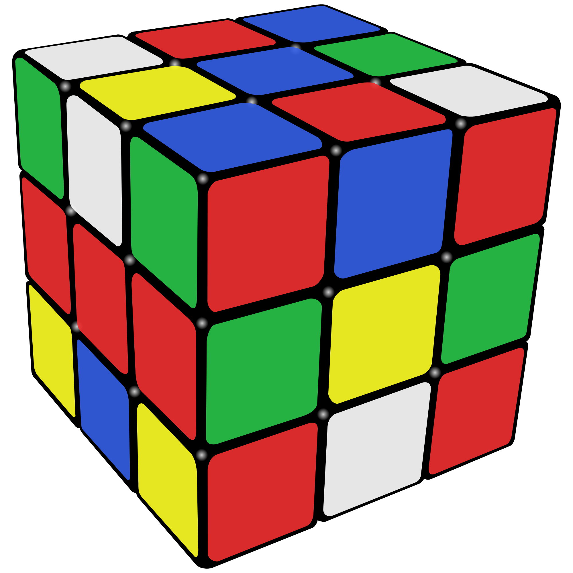 Rubik's Cube Backgrounds, Compatible - PC, Mobile, Gadgets| 2000x2000 px