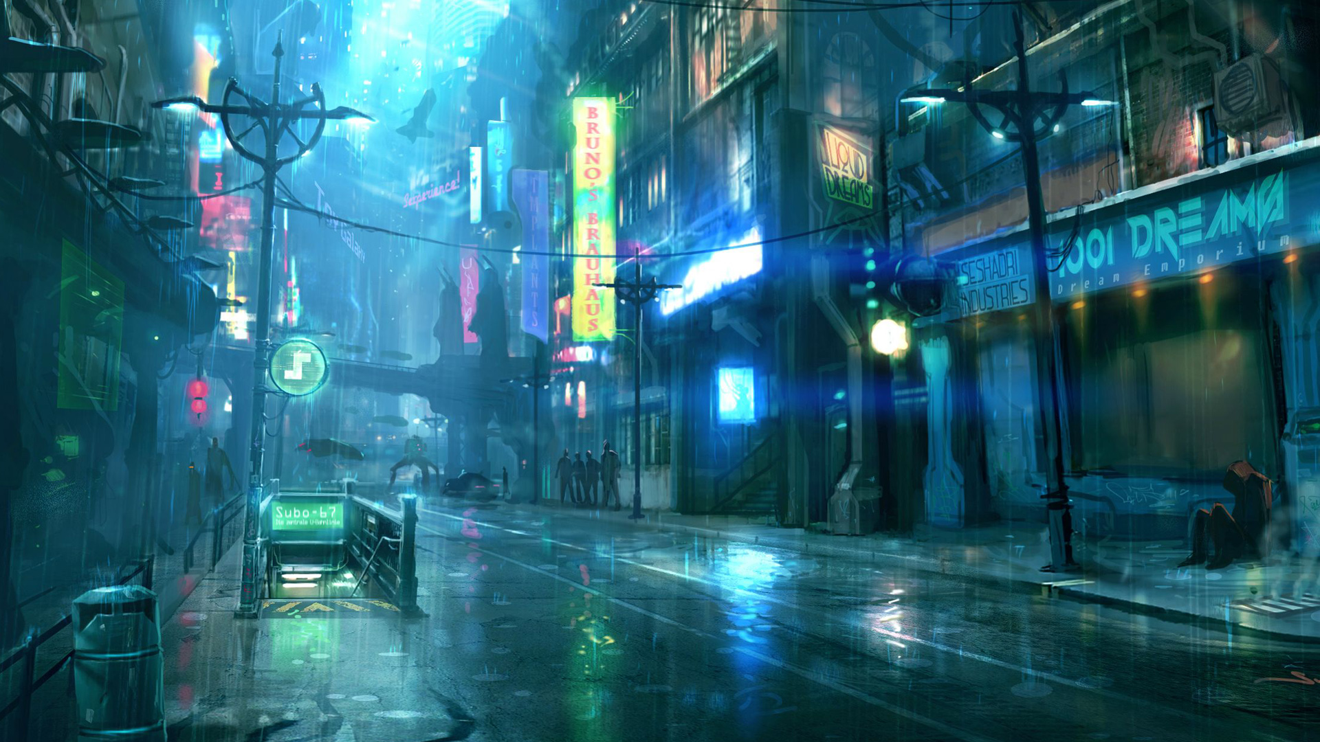 Amazing Cyberpunk Pictures & Backgrounds