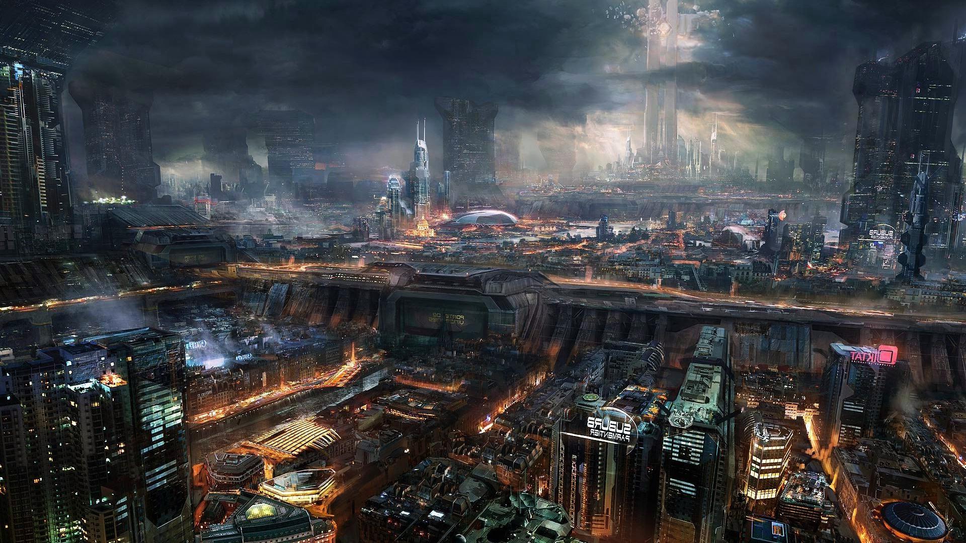 Cyberpunk Backgrounds on Wallpapers Vista