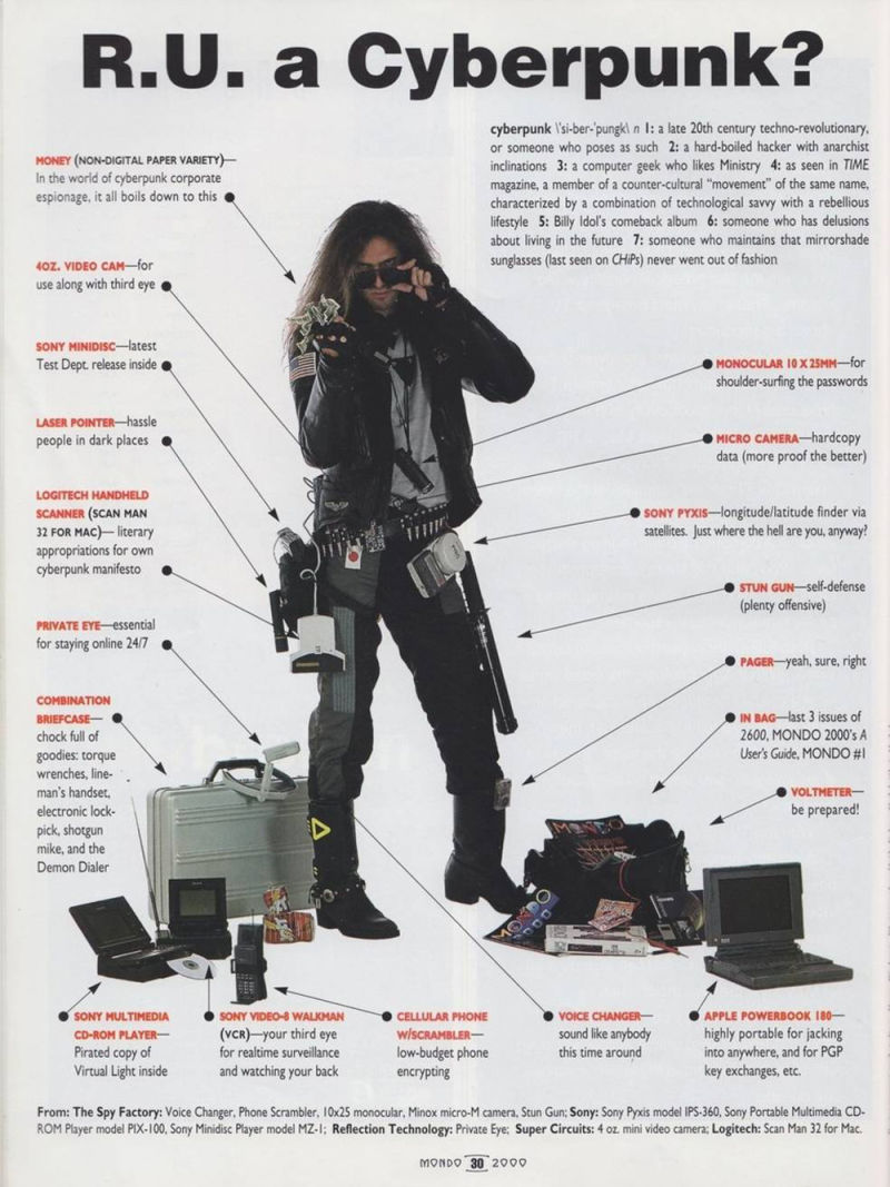 HQ Cyberpunk Wallpapers | File 135.71Kb