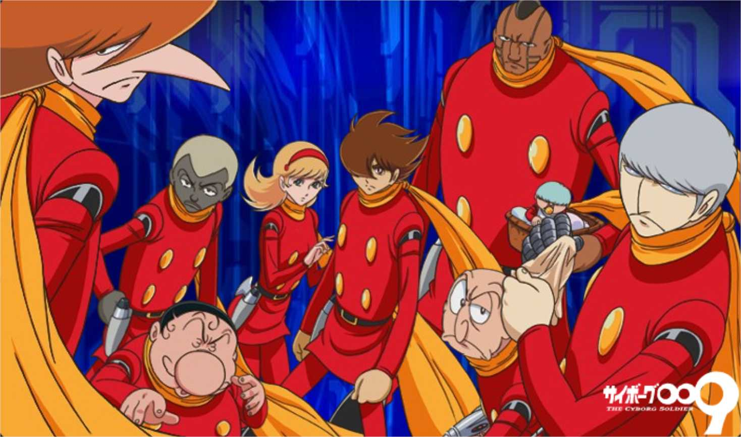 Cyborg 009 High Quality Background on Wallpapers Vista