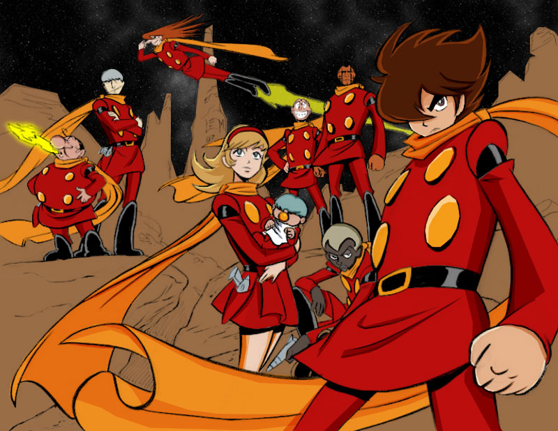 Cyborg 009 Backgrounds on Wallpapers Vista