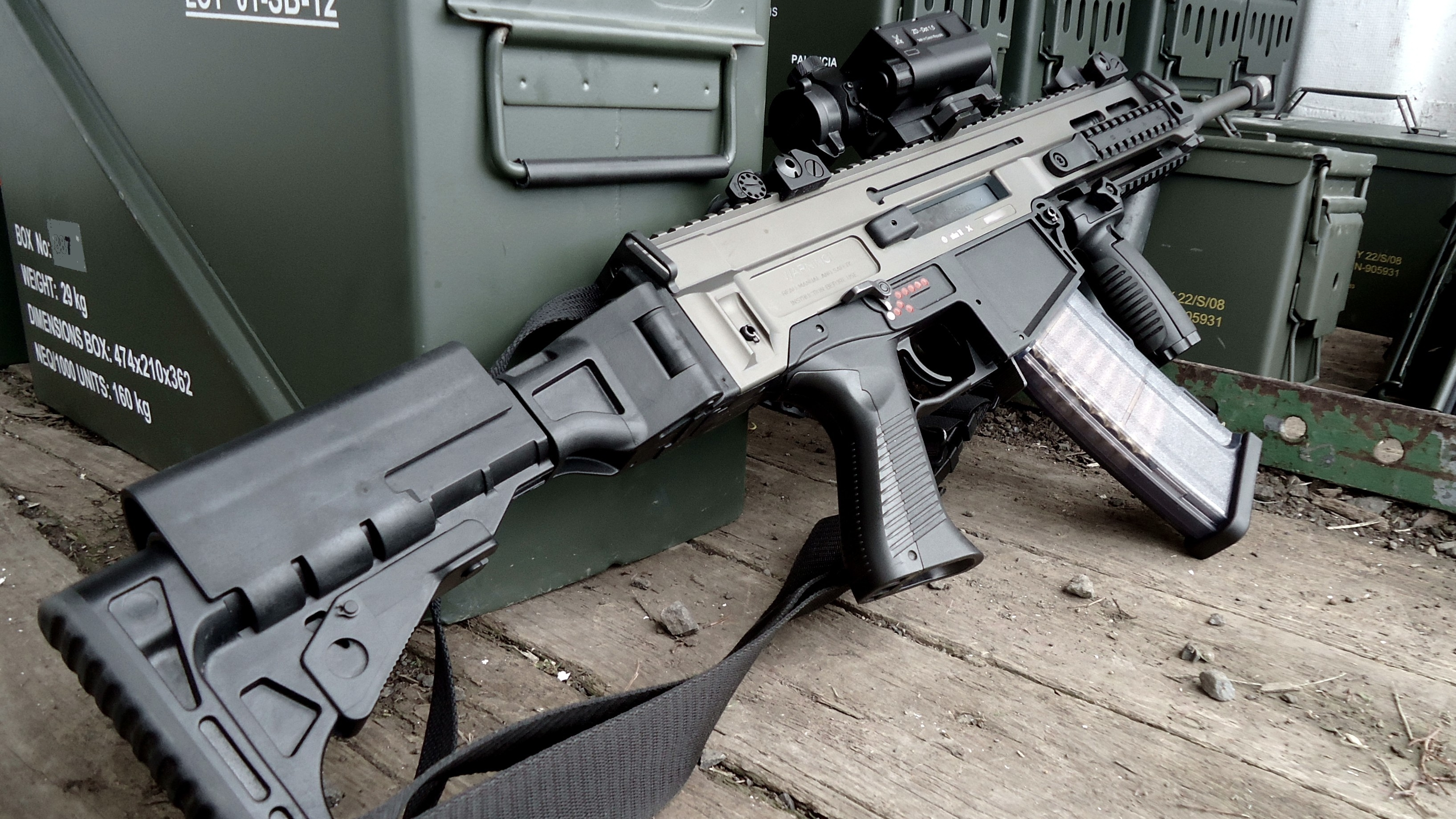 HD Quality Wallpaper | Collection: Weapons, 3269x1839 CZ-805 BREN