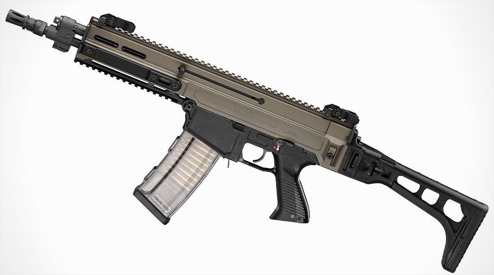 HD Quality Wallpaper | Collection: Weapons, 1000x558 CZ-805 BREN