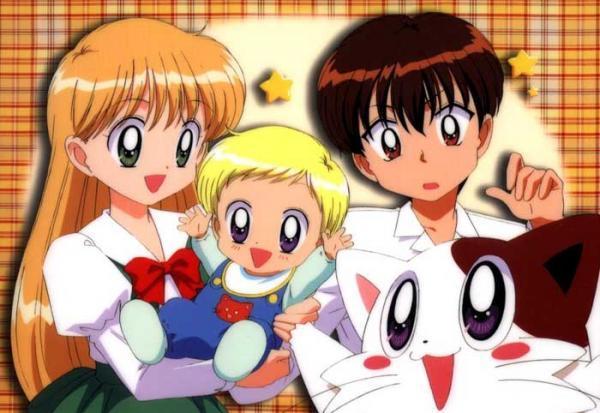 HD Quality Wallpaper | Collection: Anime, 600x413 Daa! Daa! Daa!