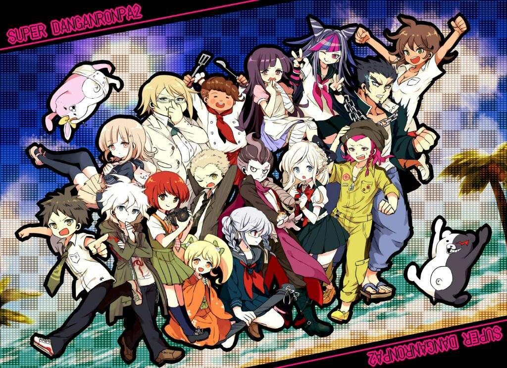 Danganronpa 2 Wallpapers Anime Hq Danganronpa 2 Pictures 4k Wallpapers 2019