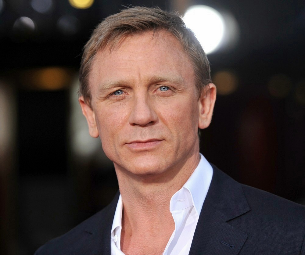 HD Quality Wallpaper | Collection: Celebrity, 1000x836 Daniel Craig