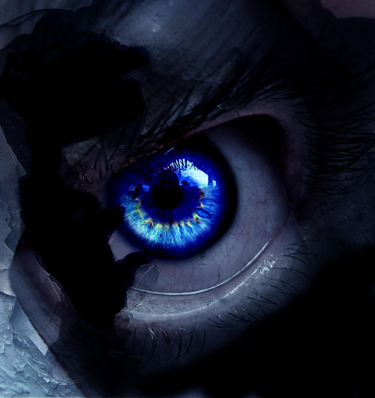 dark inside demon eye quotevcom - HD1302×1382