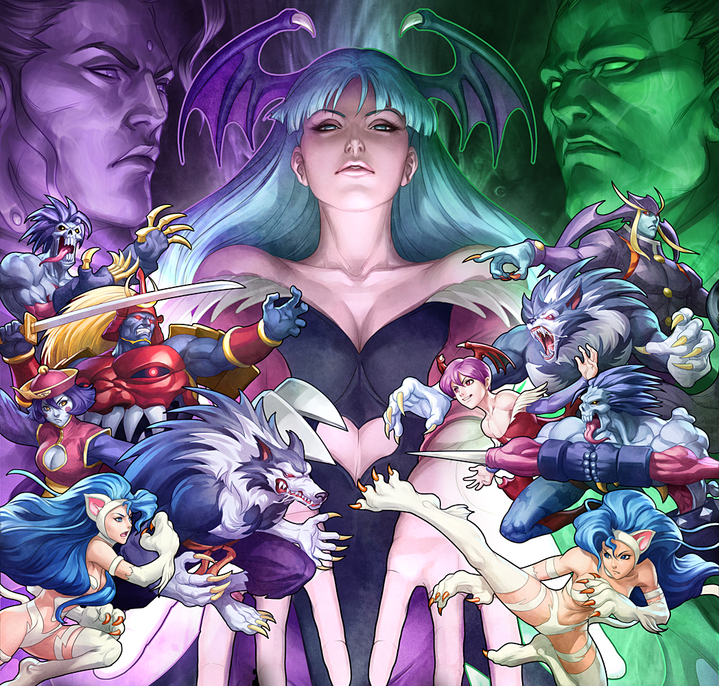 Dark Stalkers Pics, Anime Collection