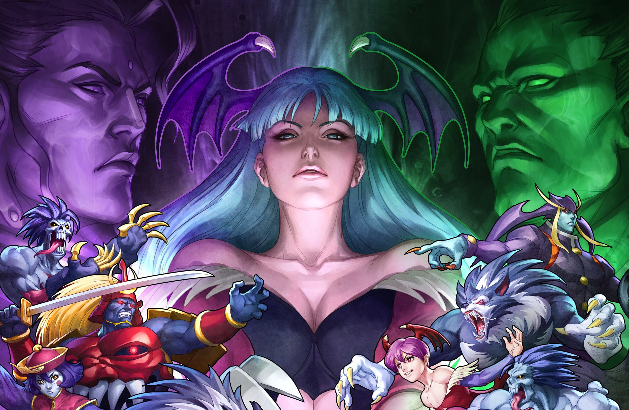Dark Stalkers High Quality Background on Wallpapers Vista