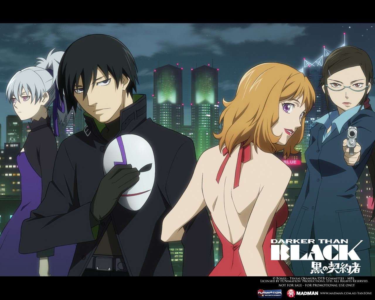 Nice wallpapers Darker Than Black 1280x1024px