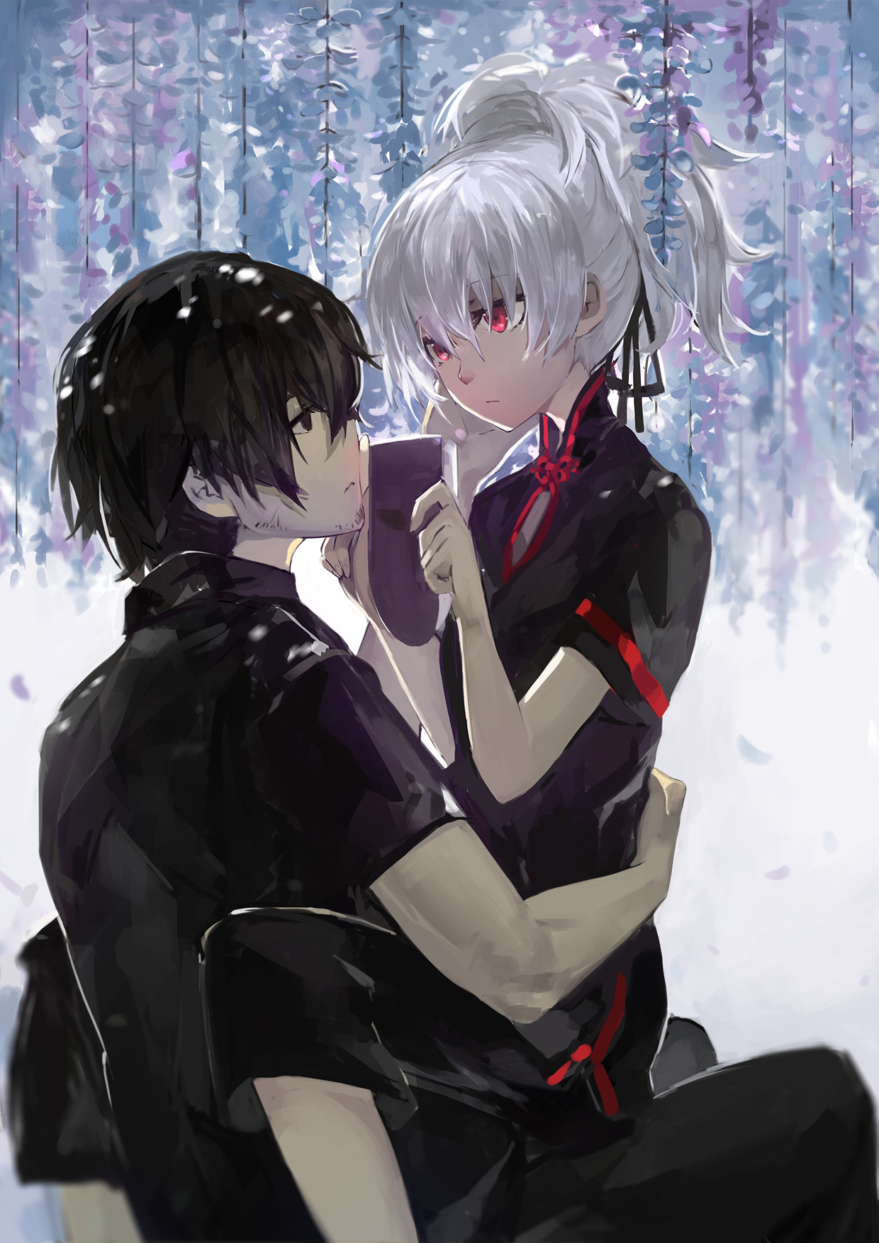 Nice Images Collection: Darker Than Black Desktop Wallpapers