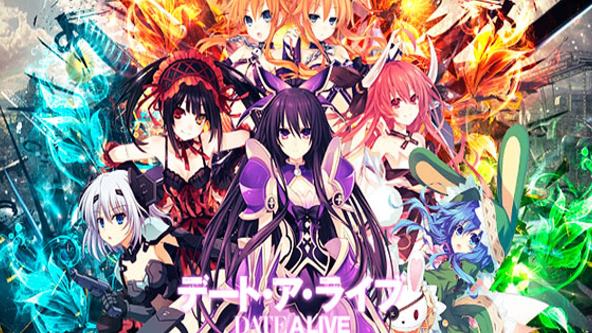 Date A Live Wallpapers Anime Hq Date A Live Pictures 4k