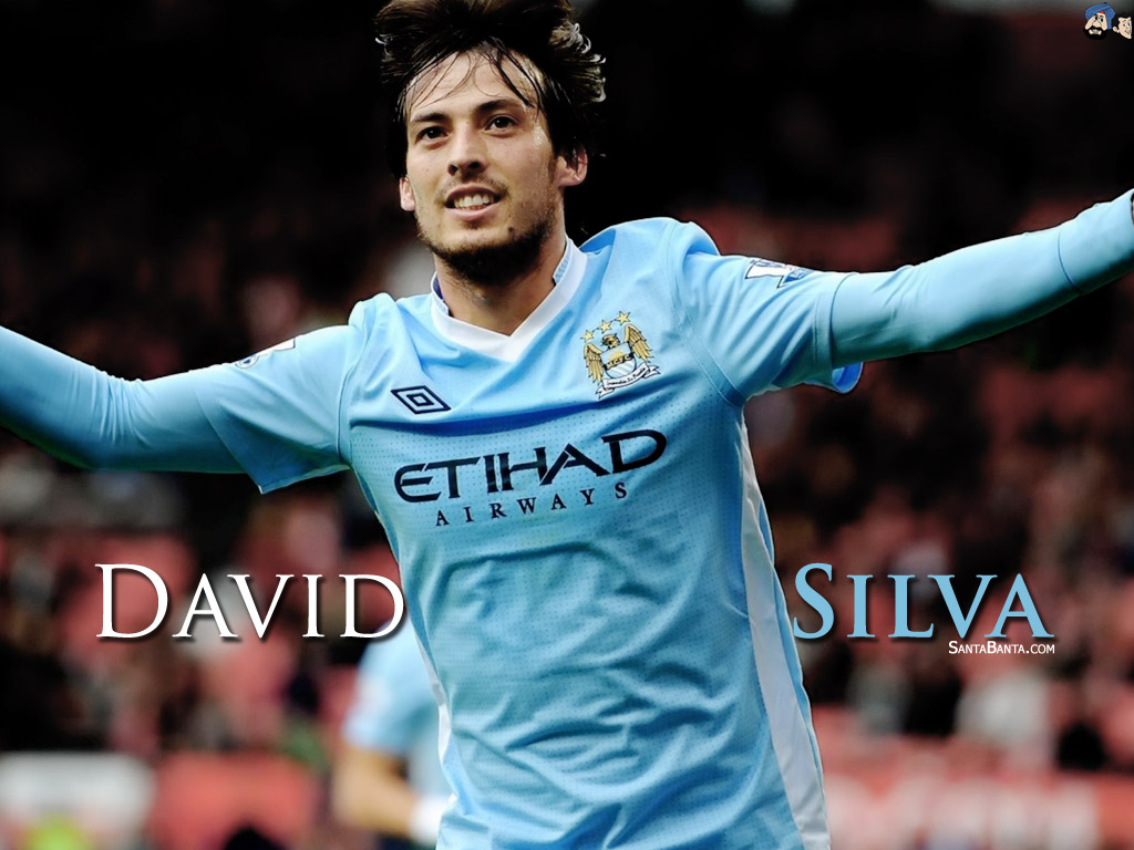 High Resolution Wallpaper | David Silva 1024x768 px