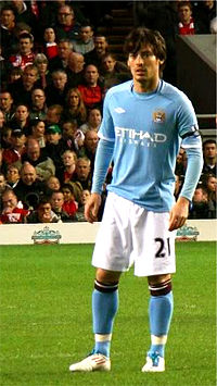 Nice wallpapers David Silva 200x355px