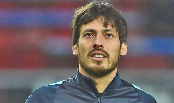 Nice wallpapers David Silva 590x350px