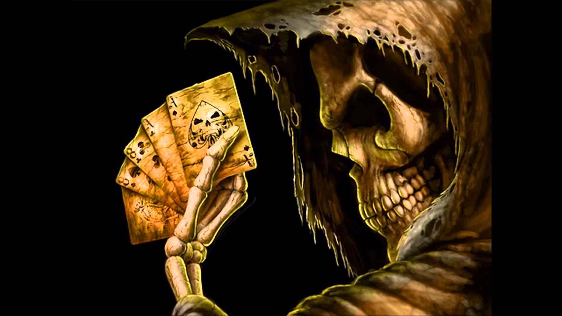 HD Quality Wallpaper | Collection: Dark, 1920x1080 Deadman's Hand
