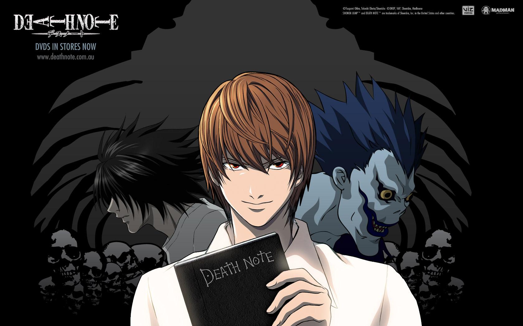Death Note Backgrounds, Compatible - PC, Mobile, Gadgets| 1680x1050 px