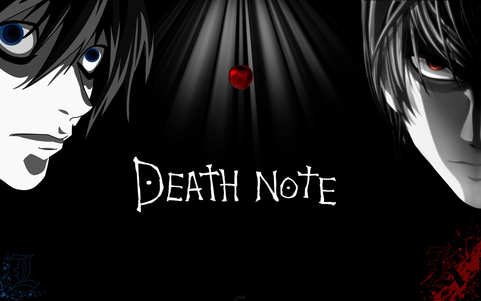 Nice wallpapers Death Note 1680x1050px