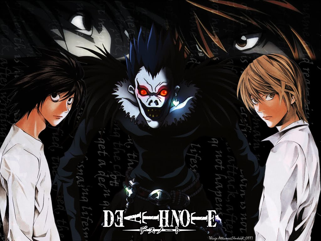Nice wallpapers Death Note 1024x768px